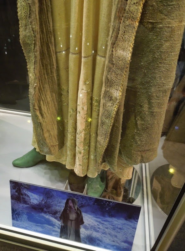 Princess Aurora Maleficent movie costume detail