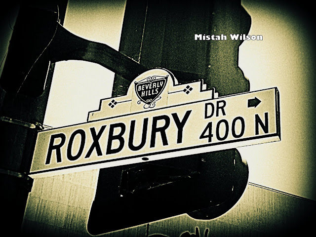 Roxbury Drive, Beverly Hills, California by Mistah Wilson