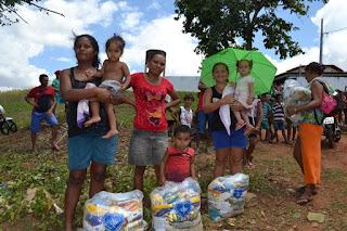 Solidariedade: LBV assiste famílias quilombolas da Paraíba