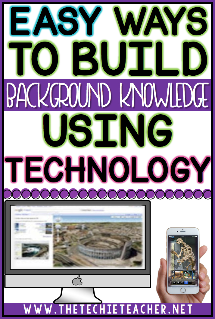 Easy Way To Contour Your Face: Easy Ways To Build Background Knowledge Using Technology