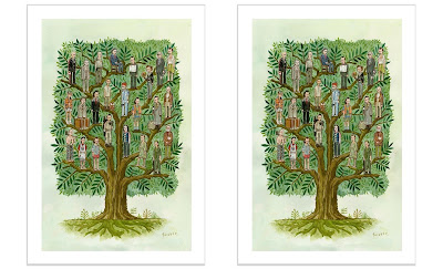 """San Diego Comic-Con 2020 Exclusive """"The Murray Tree"""" Print by Scott C."""