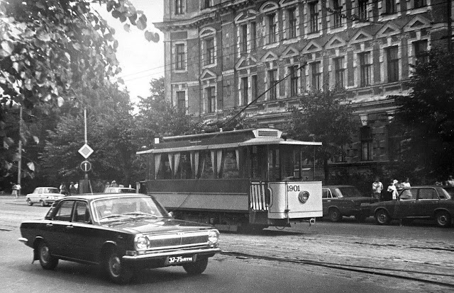 1984 год. Рига. Экскурсионный ретро-трамвай