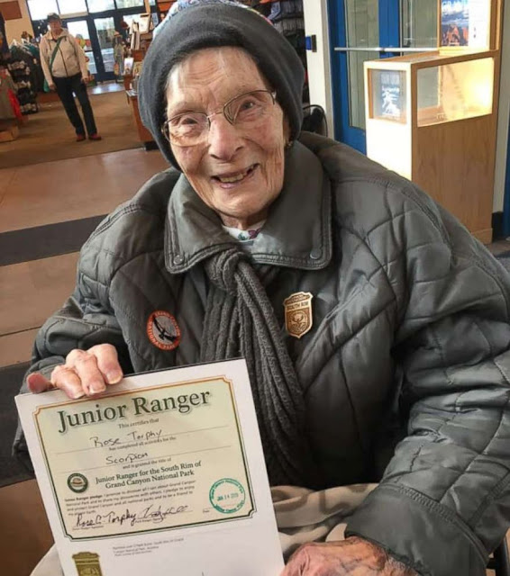 One cool thing: world's oldest junior ranger
