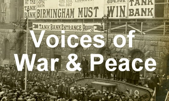 Voices of War and Peace: the Great War and its Legacy is a new First World War Engagement Centre
