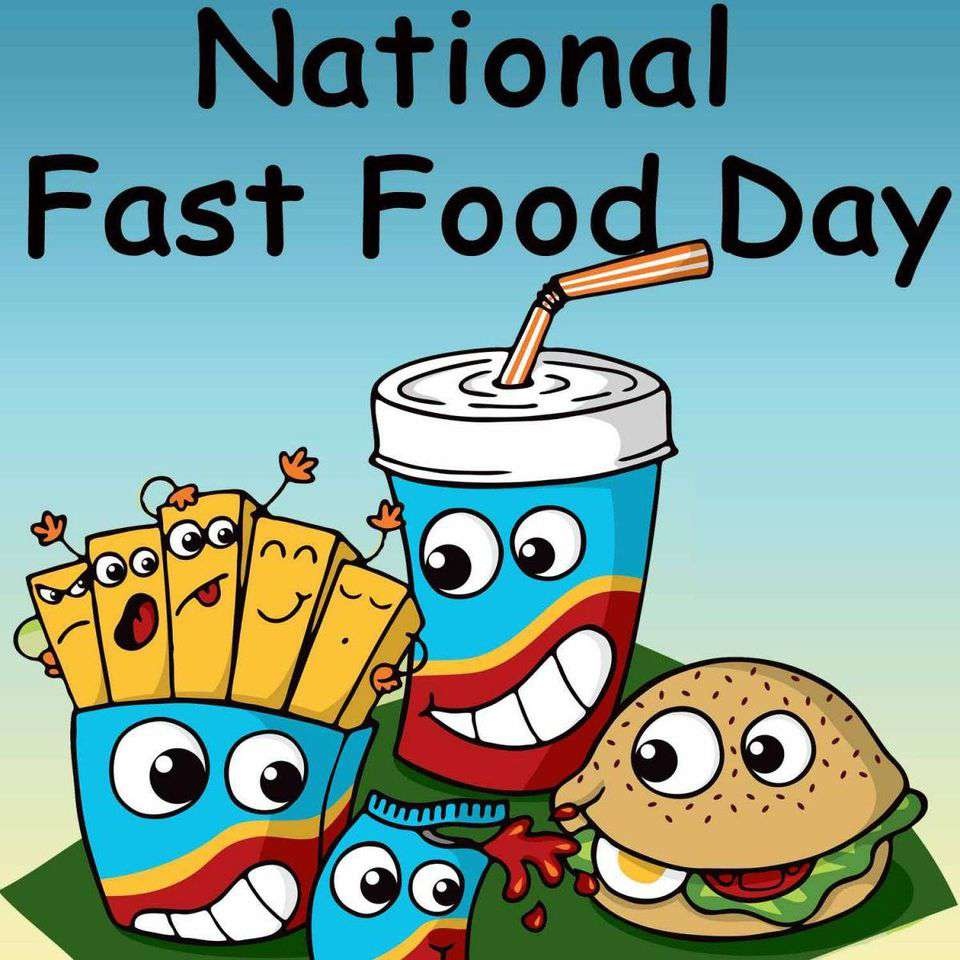 National Fast Food Day Wishes Images