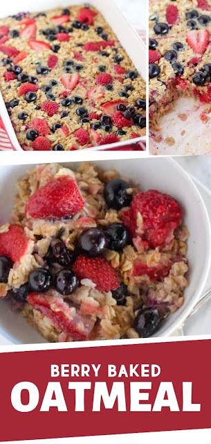 Berry Baked Oatmeal Recipe