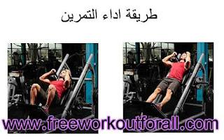 افضل تمرين لتضخيم عضلات الفخد