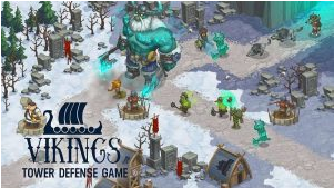 berjumpa kembali dengan admin yang kali ini akan bagikan  Vikings The Saga Mod Apk v1.0.32 Unlimited Crystals for android