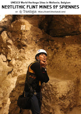 Neolithic Flint Mines at Spiennes Silexs Mons Wallonia UNESCO Pinterest