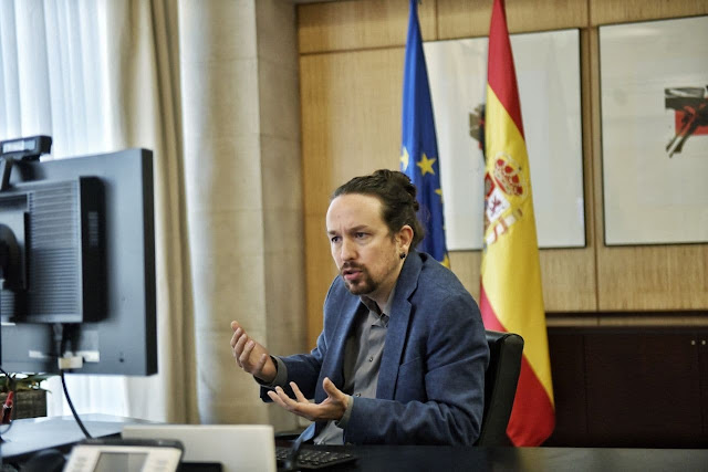 Pablo Iglesias, secretario general de Podemos. Foto: Twitter @PabloIglesias