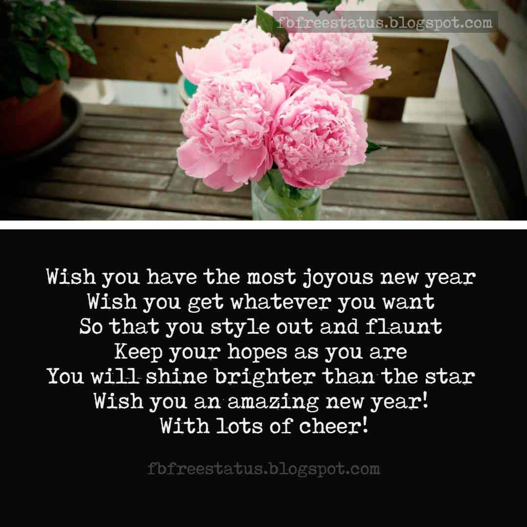 New Year Wishes Messages and Images