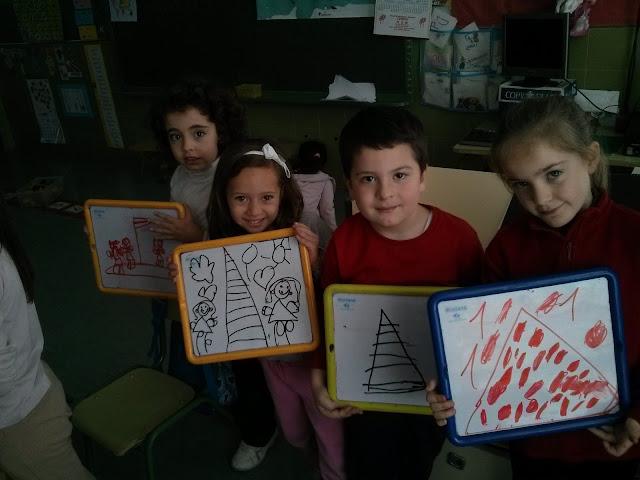todos los alumnos del equipo con sus piramides