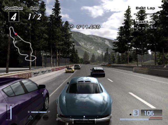 Gran Turismo 4 PS2 GAME ISO Gameplay 1