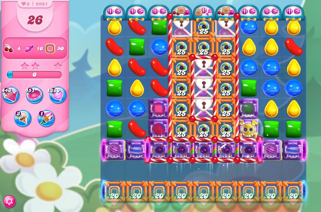 Candy Crush Saga level 9921