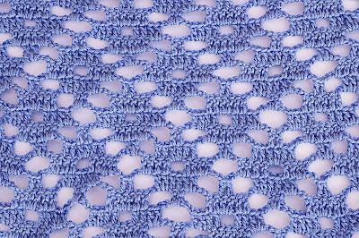 1 - Crochet Imagen Puntada a crochet de rombo muy fácil y sencilla por Majovel Crochet