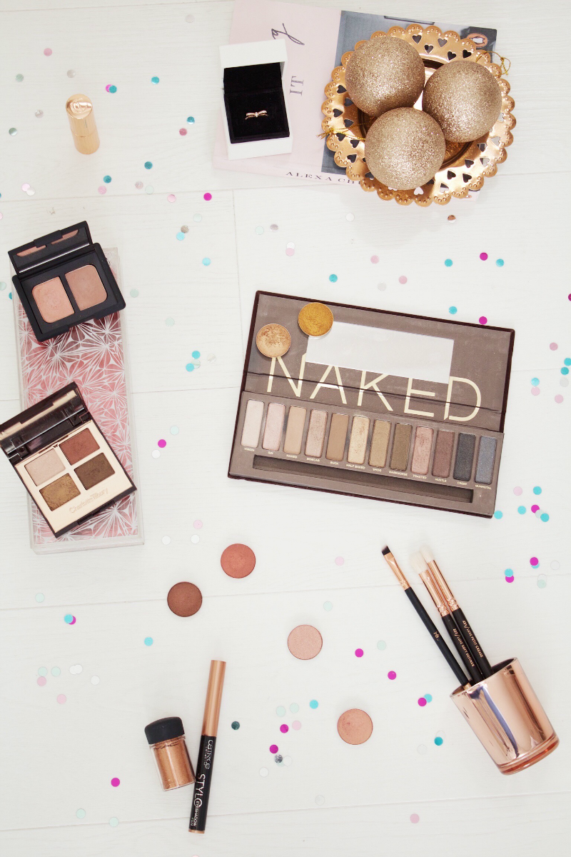 Copper, gold & rose gold eyeshadow favourites