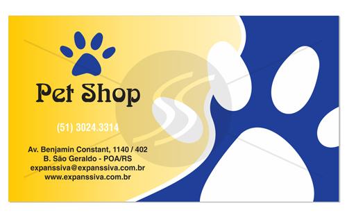 cartao de visita pet shop 17 - Cartões de Visita Pet Shop