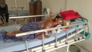 Ahmad penderita penyakit komplikasi saat dirawat di rsu.