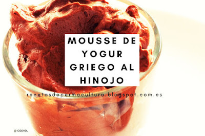 Mousse de Yogur Griego