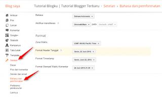 Cara Menampilkan Menu Penghasilan di Blogger