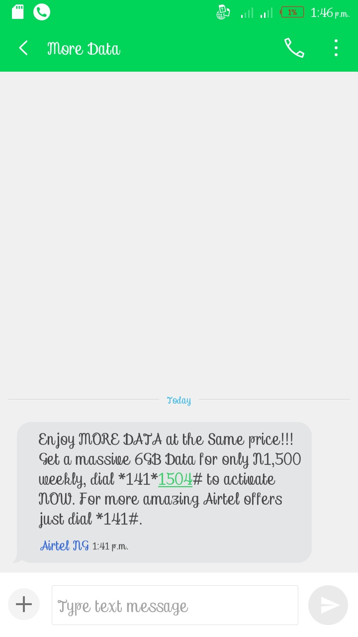 Airtel Users can Now Get 6GB For ₦1,500