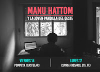 Conciertos 2017 de Manu Hattom
