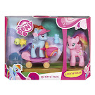 MLP Riding Along Bonus Set Skywishes Brushable Pony
