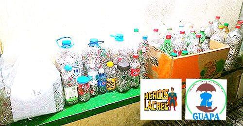 Retirada dos Lacres na Sede do Seja Hoje Diferente - Lacres Recebido do GUAPA para O Heróis dos Lacres
