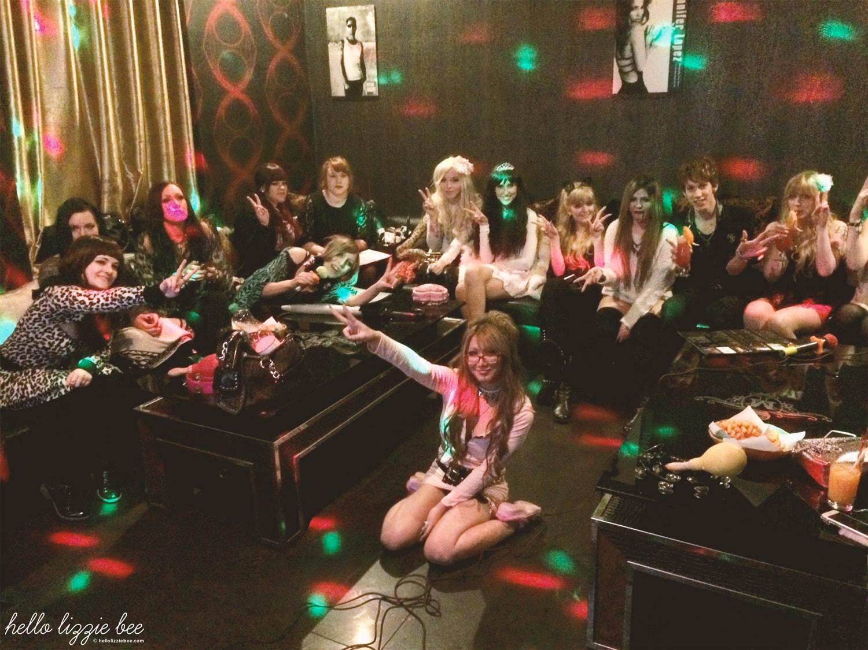 gaijin gyaru, gyaru meet, karaoke