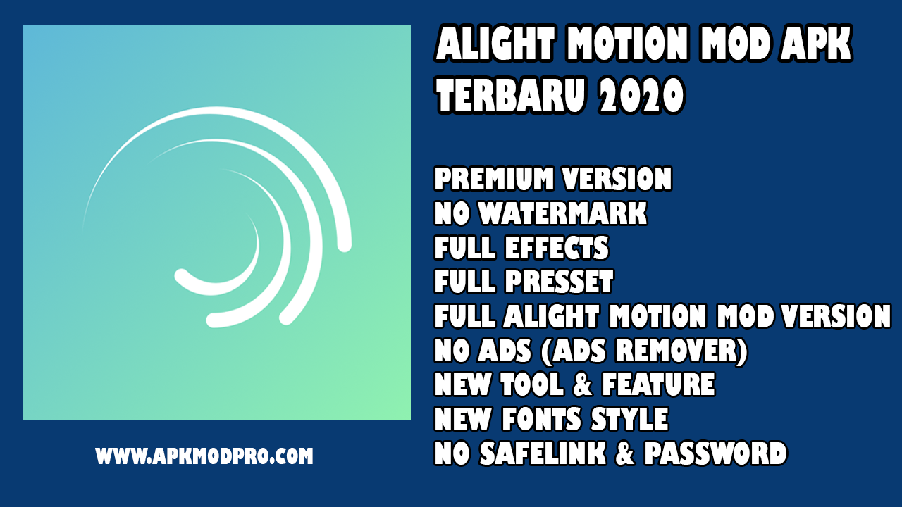 Download Alight Motion PRO 2.8.0 (MOD, All Unlocked) Terbaru 2020