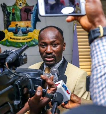 PHOTOS: Apostle Suleman Visits Governor Diri In Bayelsa State
