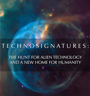 Technosignatures represent any sign of technology that we can use to infer the existence of intelligent life elsewhere in the universe.