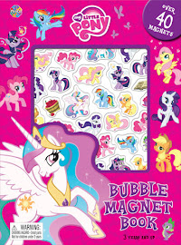 MLP Bubble Magnet Book Book Media