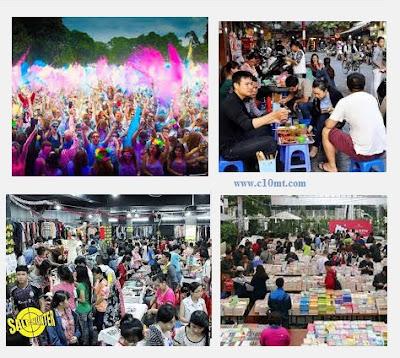 Các điểm vui chơi ở Sài Gòn Hà Nội cuối tuần ngon bổ rẻ