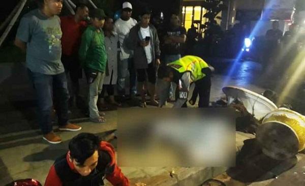 Oknum TNI Tewas Tabrak Trotoar Usai Tembak Mati Pengendara Motor