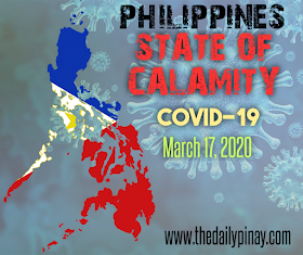 Breaking: Philippines under State of Calamity