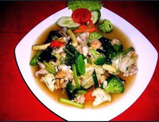 Capcay merupakan salah satu makanan yang khas dari Chinesse Indonesian Cara Memasak Capcay Kuah Kental Enak Dan Gurih