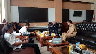 Usai Louncing Maskot Modo Midi, Ketua DPRD Terima Kunjungan Plt Bupati