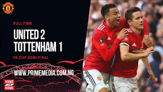 Best Video Highlight: Manchester United 2 – 1 Tottenham Hotspur [FA Cup] 2017/18