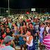 Prefeito Ascir Leite inaugura quadra poliesportiva na comunidade de Baixa de Irineu
