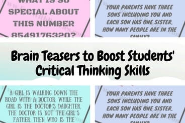 Brain Teasers to Boost Students' Critical Thinking Skills