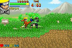 Jogue rom Naruto para GameBoy Advance online grátis