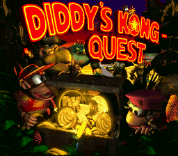 Donkey Kong Country 2 diddys kong quest snes