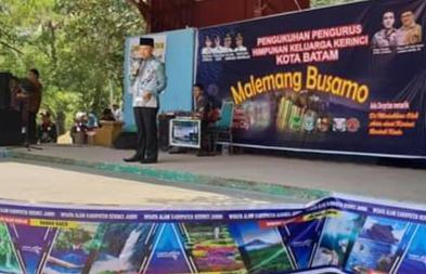 Bupati Adirozal Hadiri Pengukuhan Pengurus HKK Kota Batam