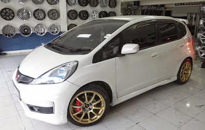 modifikasi velg honda jazz idsi