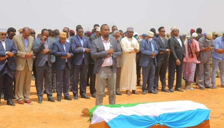 Ex-Puntland Vice President Mohamed Hashi Laid To Rest In Garowe