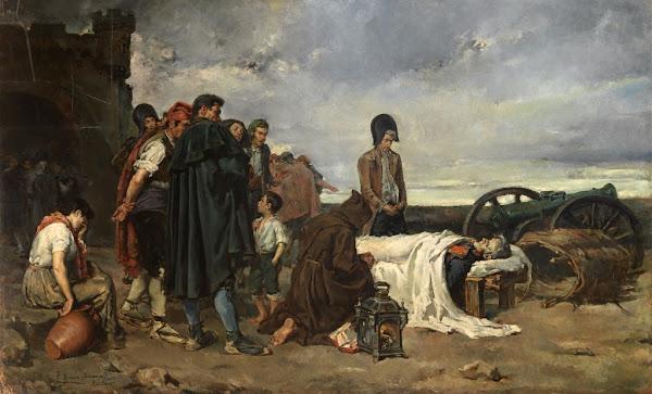 The Body Of General Alvarez De Castro by Tomas Munoz Lucena Macabre Art, Macabre Paintings, Horror Paintings, Freak Art, Freak Paintings, Horror Picture, Terror Pictures