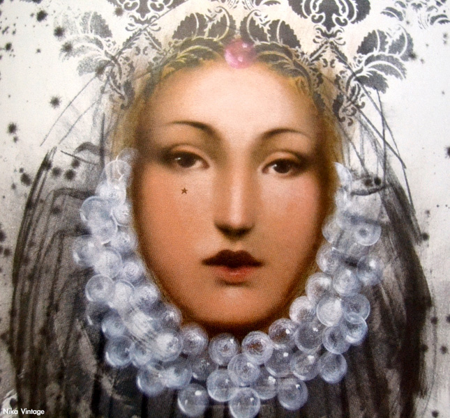Retrodiva, Carles Gomila, arte, cuadro, obra, pintura