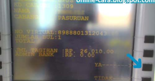 Cara Bayar BPJS Via ATM Mandiri ~ Cara Online