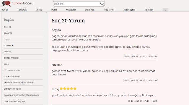 ücretsiz sözlük scripti